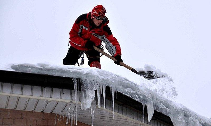 Инструкция по охране труда по очистке снега с кровли
